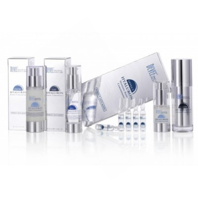 Fluid Eye Lifting 15ml, Hyaluron gél 30ml, Hyaluron krém 30ml, Hyaluron efekt 7x2ml